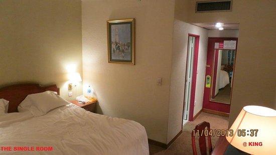 فندق ميركور جراند: SINGLE ROOM