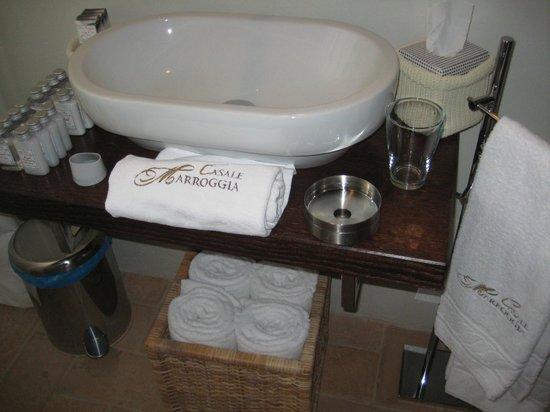 Casale Marroggia: Bagno