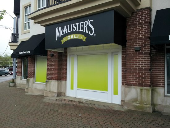 McAlister's Deli: Euclid side View