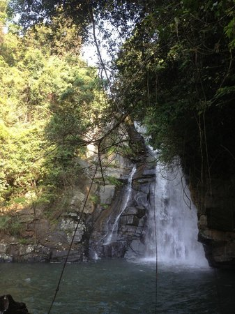 Living Heritage Koslanda: Waterfall -- about a 20-30 minute hike