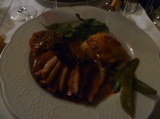 Le Moulin De Mitou: Magret de canard - sauce Morille