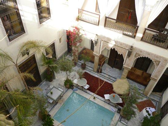 RIad Al Loune: Riad from the Terrace