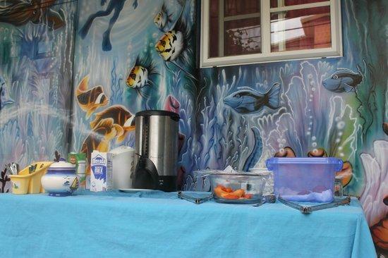 desayuno en Hotelito del Mar