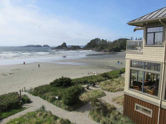Long Beach Lodge Resort: view from room 305