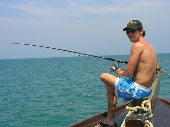 Siam Pearl Cruises: fishing was great!