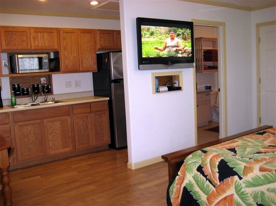 "Keaau Place: 42"" Flat Screen with DVD Player"