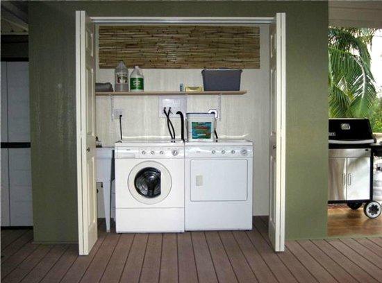Keaau Place: Laundry Facilities