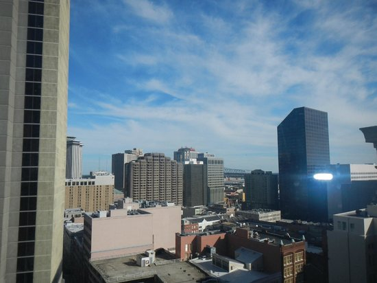 JW Marriott New Orleans: view from my room