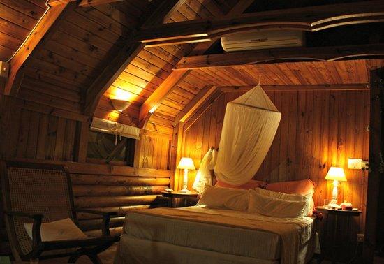 Senteur Vanille : The upstairs bedroom