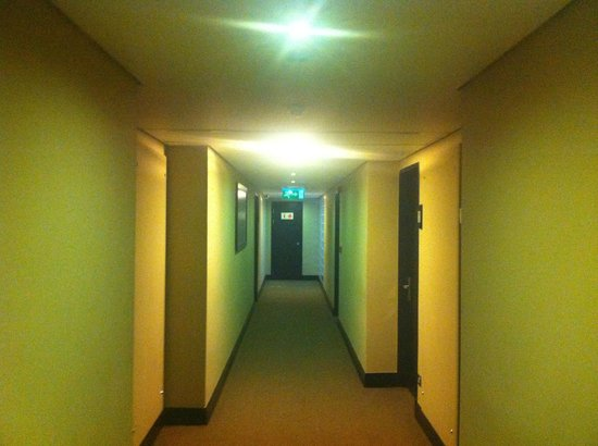 Mount Meru Hotel: The hallway