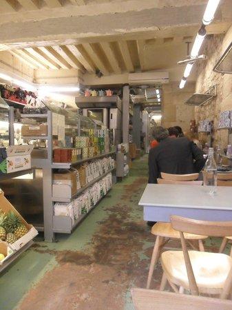 Rose bakery: interno
