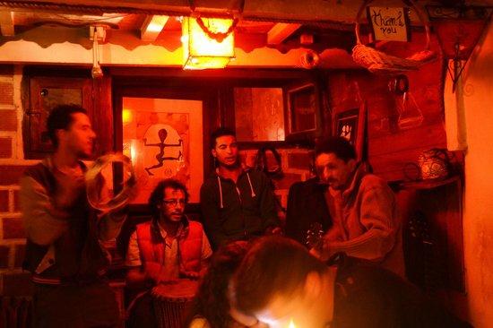 Restaurant Des Arts : les musiciens