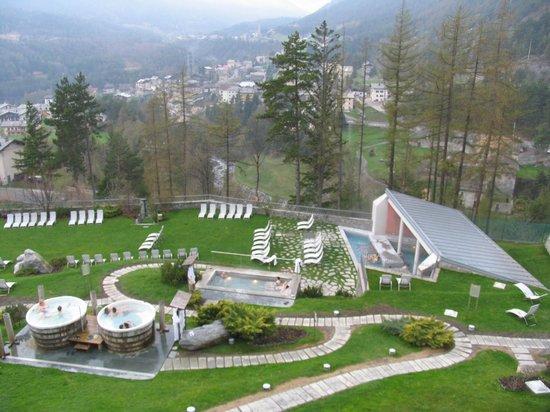 Vista dall\'alto - Picture of Terme Bagni Nuovi, Valdidentro ...