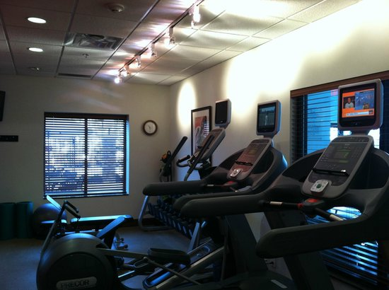 Hilton Garden Inn Atlanta West/Lithia Springs: Gym--small but modern