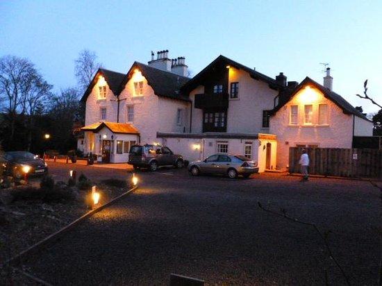 Best Western Pus Scottish Borders Selkirk Philipburn Hotel: Dusk at Philipburn