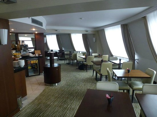 Hilton Prague Old Town: The executive lounge.