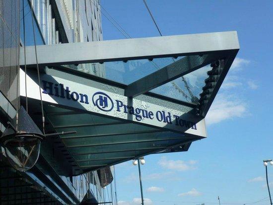 Hilton Prague Old Town : Entrance.