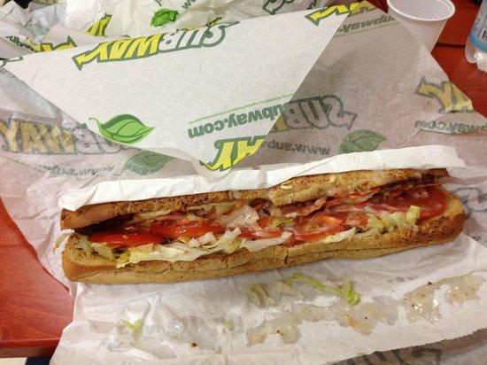 Il mio meraviglioso panino da SubWay