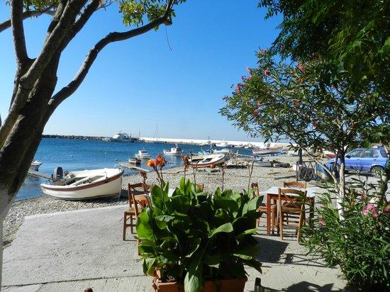 Kerkis Bay Hotel: visuale dal ristorante