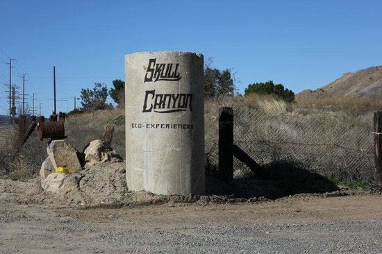 Skull Canyon Zipline: The Entrance