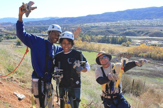 Skull Canyon Zipline: We're about to tackle the big line!