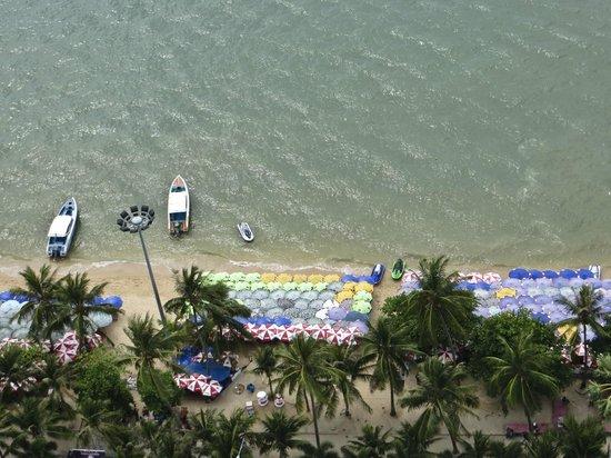 Hilton Pattaya: Beach view
