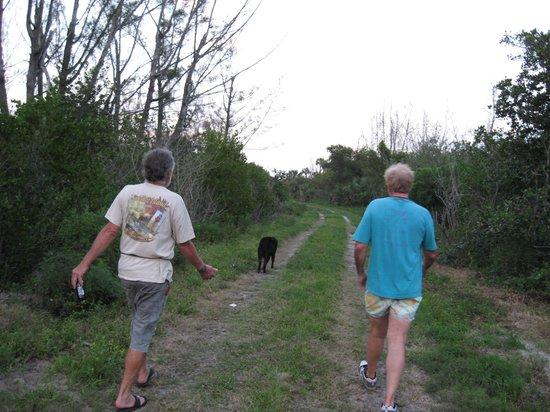 Floridana Beach Motel: Hiking the Old Plantation conservation property