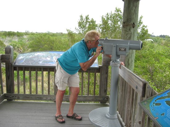Floridana Beach Motel: Pelican Island nearby to sightsee