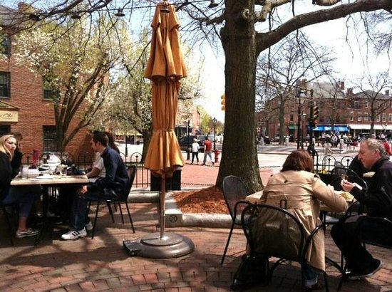 Not Your Average Joe's: Outdoor patio