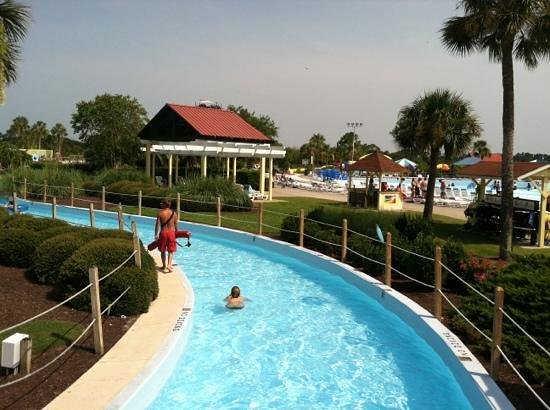 Lazy river picture of summer waves water park jekyll - Summer waves pool ...