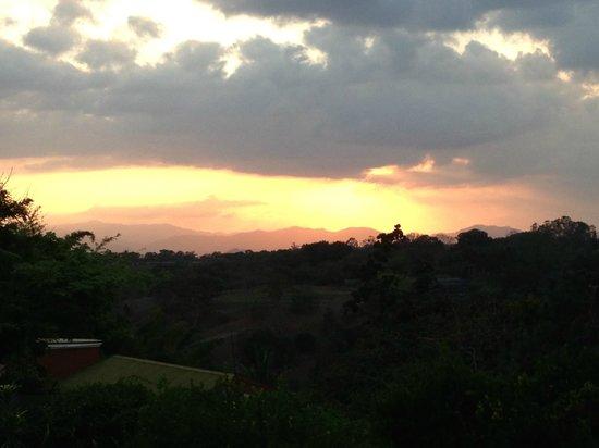 Vista Linda Montaña: Aussicht von der Terrasse