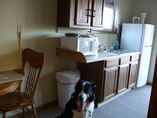 Mansfield Woods: 簡易キッチン