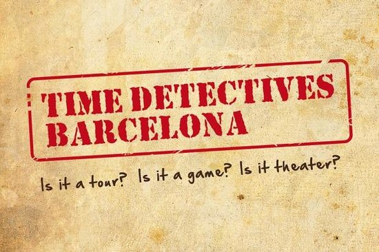 Barcelona Time Detectives Tour: Time Detectives