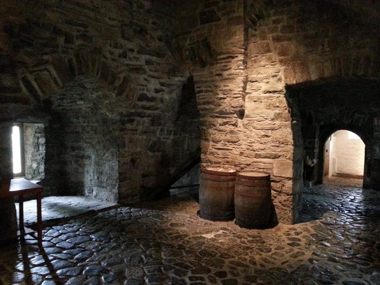 Inside Donegal Castle