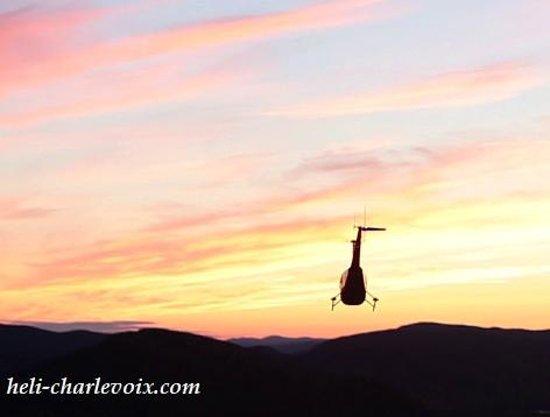 Heli-Charlevoix, Helicoptere touristique : Que c'est beau!