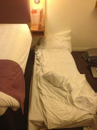 Premier Inn Bristol City Centre (Haymarket) Hotel: Extra Bed if you ask for