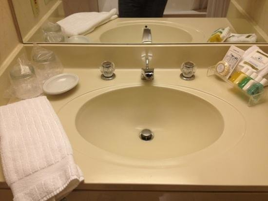 Cincinnatian Hotel: bathroom vanity