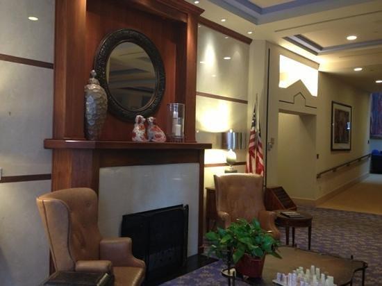 Cincinnatian Hotel: lobby