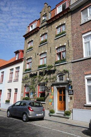 Hotel De Pauw: Esterno