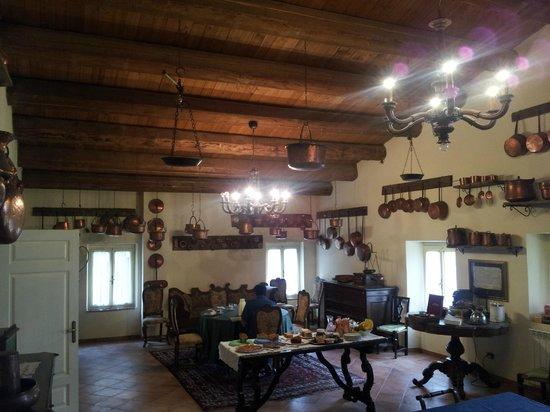 Villa dei Priori: La sala dei rami