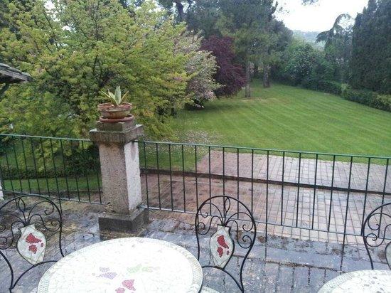 Villa dei Priori: Il giardino