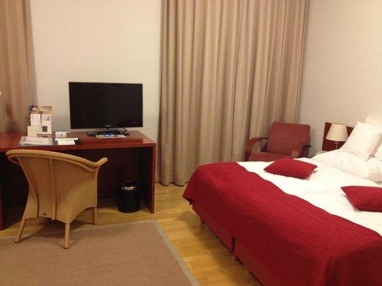 Collegium Leoninum Hotel : Comfortable beds
