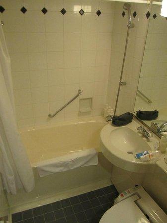 Hotel Villa Fontaine Tokyo-Shiodome: Salle de bain - très petite