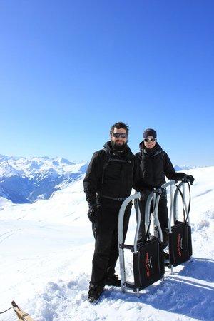 Grindelwald, Schweiz: Near the top