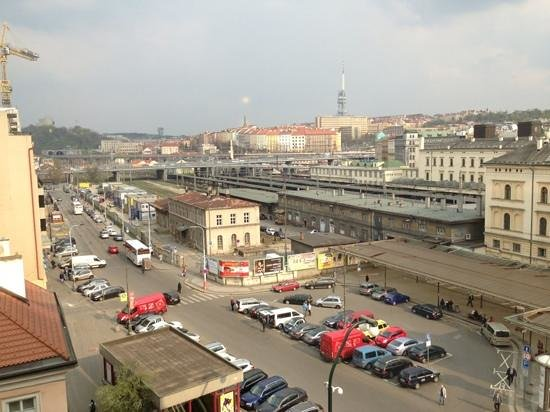 Hilton Prague Old Town: view from 715