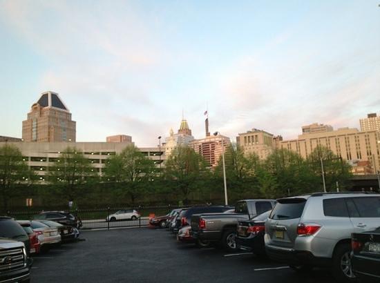 Sleep Inn & Suites Downtown Inner Harbor: off the street private parking