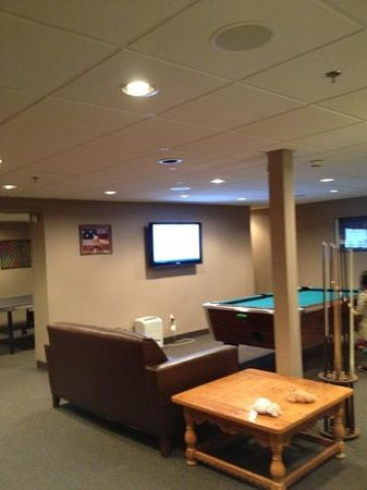 Woodloch Pines Resort: new game room