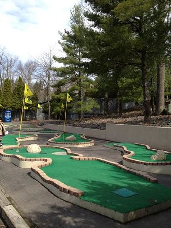 Woodloch Pines Resort: mini golf