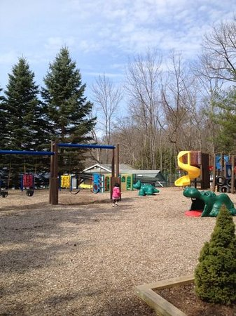 Woodloch Pines Resort: outdoor play ground