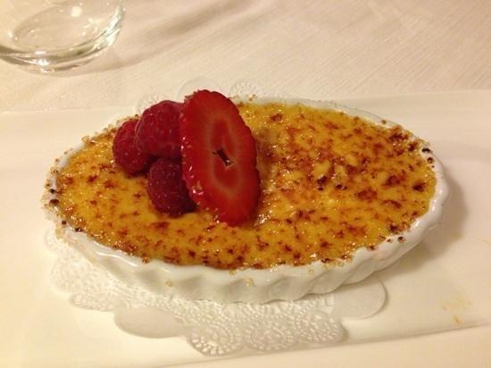 Ristorante del Monte: crème brulé